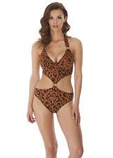 FREYA Gold Rush UW Cutout Swimsuit size 34DD Brand New