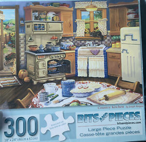 Country Kitchen by Joseph Burgess 300 piece puzzle Bits and Pieces Ages 14+