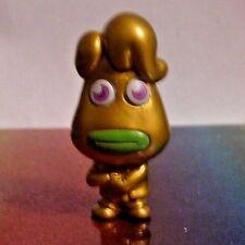 Moshi Monsters Series 3 #M07 EEKY GROANAS GOLD Moshling Mini Figure Mint OOP