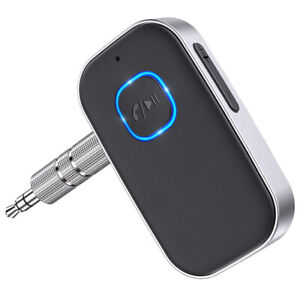 USB Wireless Bluetooth 5.0 Transmitter Receiver 3.5mm 2in1 Audio Adapter Aux Car
