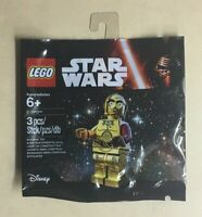Lego Star Wars C-3PO The Force Awakens Red Arm 5002948 Polybag Promo Mini Figure