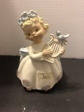 Vintage Leftons Angel Planter