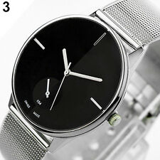 Hot Vogue Classic Womens Men's Quartz Stainless Steel Wrist Watch B28U