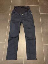 Umstandskleidung Stoffhose Esprit Blau Grösse 34 Schwangerschaft