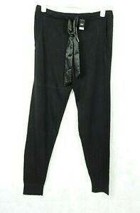 Next Black Fine Knit Joggers With Cashmere Size 14 Uk Rrp £45 CR018 EE 15
