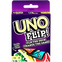 UNO FLIP CARD GAME Great Family Fun For Children Friend Travel Party UK Seller