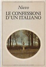 NUOVO - Le confessioni d'un italiano (I.Nievo), De Agostini ed.1983