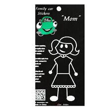 Family Car Mom Window Stickers Decals Vinyl Figure Decoration