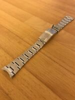 Rolex Submariner Oyster GLIDELOCK STAINLESS STEEL Strap Solid Links NEW FROM UK