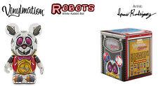 "New Disney Vinylmation 3"" Robots Series 3 WHITE RABBIT BOT w/Box 1 2 4-Fast Ship"