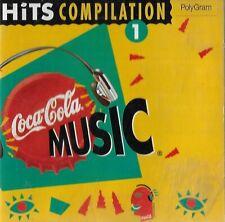 COCA COLA MUSIC hits compilation 1 - CD promo