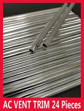 NEW 24 pcs AC VENT INTERIOR DASH MOLDING TRIM/5YR WRNTY (FIAT09-17)