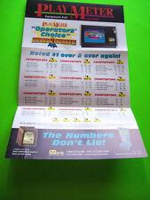 Merit MEGATOUCH XL NOS Playmeter Magazine 1998 Operators Choice Sales Flyer