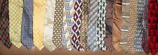Giorgio le Collezioni etc. LOT 18 Men Neckties 100% Silk Italian Brands LOT 2347
