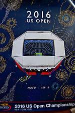 2016 US OPEN Championship Tennis Original Large Poster New York City Stadium