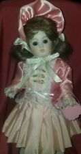 """12""""Antique Reproduction Cabinet doll French Fashion Jumeau Reproduction & Dress"""