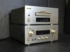 TEAC PD-H500 CD-PLAYER AG-H500 STEREO RECEIVER TOP! VINTAGE