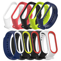 Replacement Silicone Watch Band Strap Wristband Bracelet for Xiaomi Mi Band 4 3
