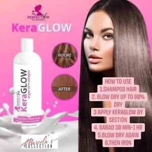 KERAGLOW Brazilian Blowout hair treatment 120ml Straighten, Smoothen & Healthy