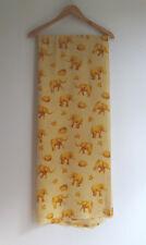Silk Elephant & Turtle Fabric 202cm x 148cm