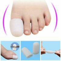 2x Silicone Gel Big Toe Protector Cover Caps Prevent Blisters Pain Release PRO