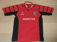 LFR Live for Rugby Ireland Munster SHORT-SLEEVE RUGBY RED JERSEY TOP MAN S