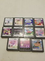 Lot of 11 Nintendo DS Games. Cleaned and Tested