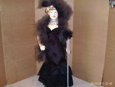 vintage 17 in. vinyl jointed Effanbee Mae West doll 1982