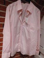 Bluse - van Laack Gr. 44 -  Modell Effi rosa - Neuware