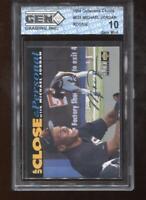 Michael Jordan RC 1994 UD Collectors Choice #635 Silver Signature GEM MINT 10