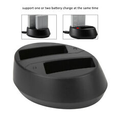 LP-E8 Oval 600mAh Double Battery Charger for Canon EOS Rebel T2i 550D 600D 700D
