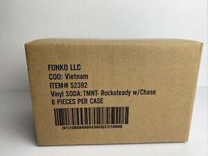 Funko Soda TMNT Rocksteady Teenage Mutant Ninja Turtles Vinyl 6 Pack With Chase
