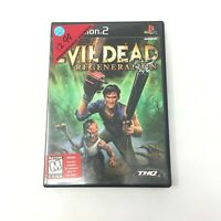 Evil Dead Regeneration PS2 Sony PlayStation 2, 2005 Tested Fast Shipping