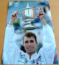 IVAN LENDL Signed 12X8 Photo TENNIS Champion Autograph Memorabilia & COA
