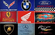 """Large High Quality Car Flags Banners 3'X5' - Indoor/Outdoor - 36""""X60"""" - New"""