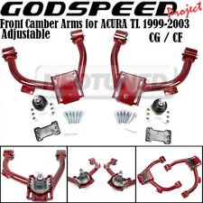For 99-03 Acura TL (CG/CF) Godspeed Adjustable Front Upper Camber Arm Kit Set