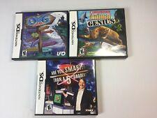 Lot of 3 Children's Games (Nintendo DS) - Tested and Guaranteed to Work