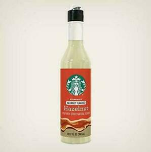 Starbucks Naturally Flavored Hazelnut Syrup w/ Other Natural Flavors SHELF SALE