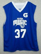 Orlando Magic Number 37 2Xl Xxl Reversal Basketball Jersey Reversible