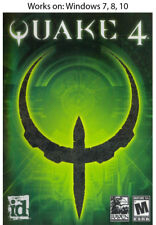 Quake 4 + Elder Scrolls Arena + Chapter II Daggerfall PC Game Windows 7 8 10