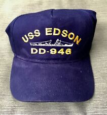 New listing Uss Edson Dd-946 Cap Hat with embroidery