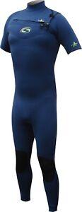 SOLA H2O 3/2mm MENS Spring Suit Chest Zip Wetsuit Size M, L, MST, MTL SALE A1702