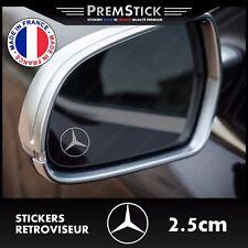 Kit 3 Stickers Retroviseur Voiture Mercedes - Autocollant auto, retro ref2