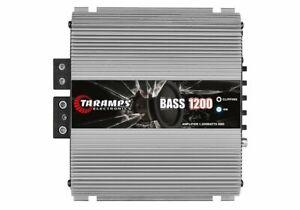 Taramp's Bass 1200 Watts 1 Ohm Class D Full Range Mono Amplifier - BASS12001OHM