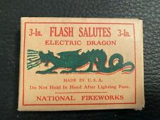 New listing Flash Salutes Electric Dragon 3-inch Empty box - Vg Condition