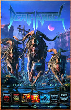 DEATH ANGEL Humancide 2019 Ltd Ed New RARE Tour Poster +FREE Metal Rock Poster!