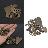 New Vintage 50g/pack Jewelry Making Charms Pendants Random Shape DIY Crafts