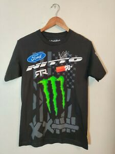 VAUGHN GITTIN JR Motorsports ~ Small ~ Monster Energy ~ All Over Print T Shirt