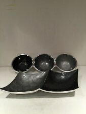 Pair Of Nut Dishes Bowls Servers Metal