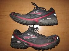 Women's Brooks Ghost 4 Size 11 Pink Black Running - Nice - Fast Ship - See Pics
